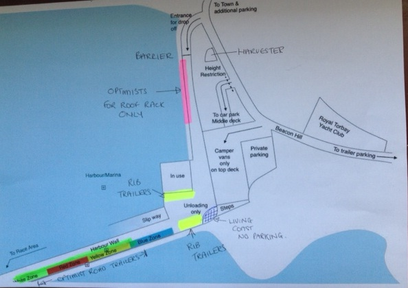 departure map